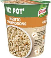 Knorr Plat Déshydraté Riz Pot' Risotto Champignons - Produit - fr