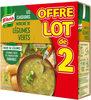 Knorr Soupe Mouliné de Légumes Verts 50cl Lot x 2 - Produit