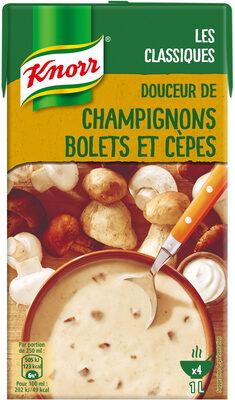 Knorr Soupe Liquide Champignons Bolets & Cèpes 1l - Product