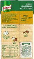 Knorr Soupe Liquide Champignons Bolets & Cèpes 1l - Voedingswaarden