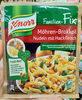 Möhren-Brokkoli Nuddeln mit Hackfleisch - Product