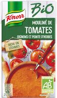 Knorr Mouliné Bio de Tomates Oignons et Pointe d'Herbes 1L - Product - fr