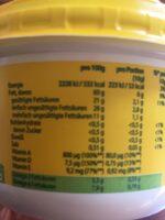 Rama zum Streichen Backen & Kochen - Nutrition facts