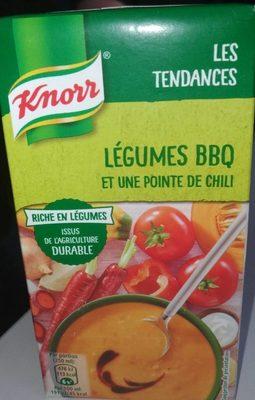 Légumes bbq pointe de Chili - Product