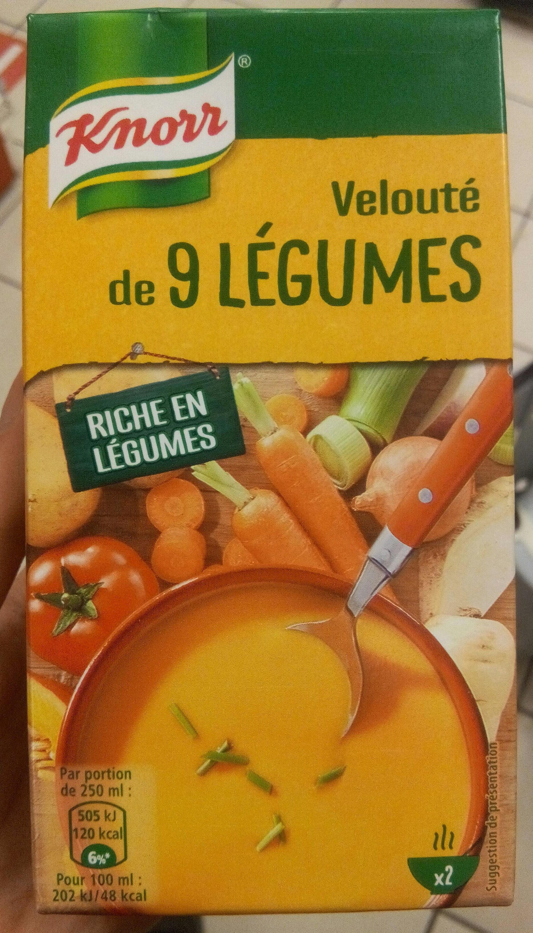Velouté de 9 légumes - Product