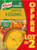 Knorr Soupe Veloutée aux 9 Légumes 1L lot de2 - Product
