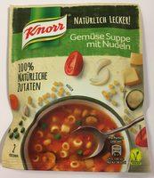 Gemüse Suppe mit Nudeln - Natürlich Lecker! - Produkt