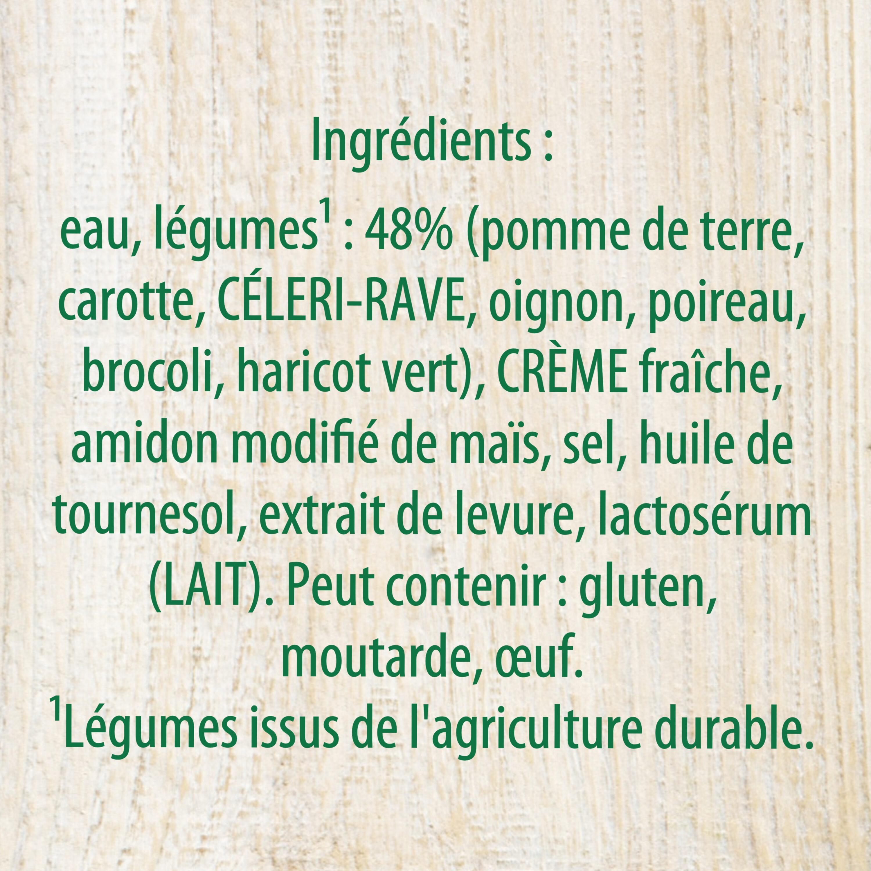 Knorr Mouliné de Légumes Variés - Ingrédients - fr