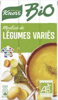 Knorr Soupe liquide Bio Mouliné de Légumes Variés 1L - Product - fr