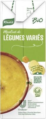 Knorr Soupe liquide Bio Mouliné de Légumes Variés 1L - Recycling instructions and/or packaging information - fr