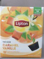 Lipton Thé Noir Caramel Vanille 12 Capsules - Produit - fr