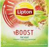 Lipton Thé Vert Boost 20 Sachets - Produit