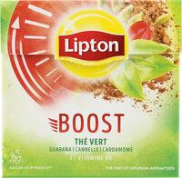 Lipton Thé Vert Boost 20 Sachets - Product - fr
