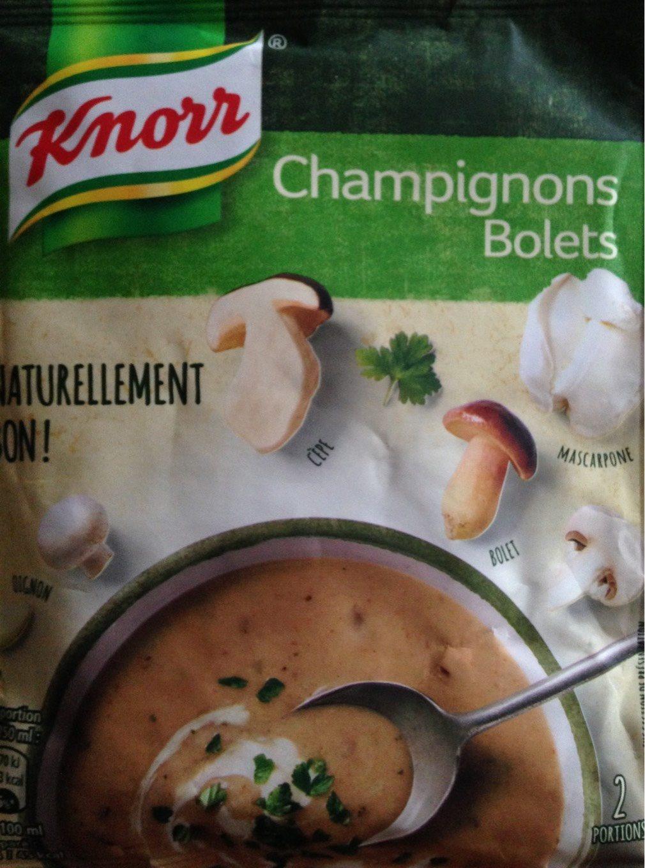 Soupe champignons bolets - Produit