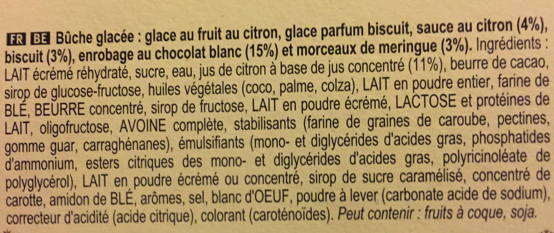 Inspiration Tarte au Citron Meringué - Ingrédients