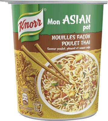 Knorr Mon Asian Pot Nouilles Poulet Thaï - Produit - fr