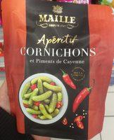 Apéritif cornichons et piments de Cayenne - Produit