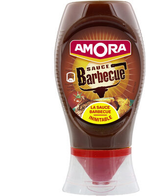 Amora Sauce Barbecue Flacon Souple 285g - Produit