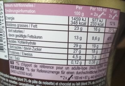 Magnum Glace Pot Noisette Praline 440ml - 4