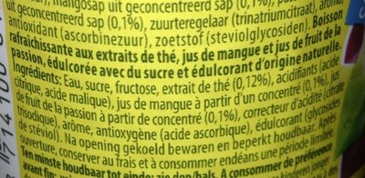 Ice Tea pocket - Ingrédients - fr