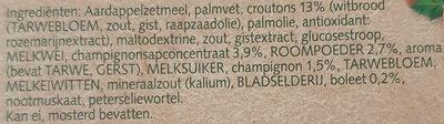 Cup a Soup Champignon crème - Ingrédients - nl
