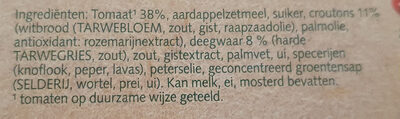 Cup a Soup Tomaat - Ingredients - nl