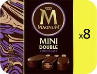 Magnum Batonnet Glace Double Chocolat x8 480ml - Produit