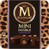 Magnum Glace Bâtonnet Mini Double Chocolat 6x60ml - Producto