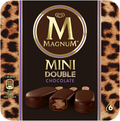 Mini Batonnet Glace Double Chocolat x6 360ml - Product - fr