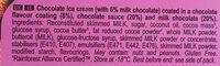 Mini double chocolat - Ingredients