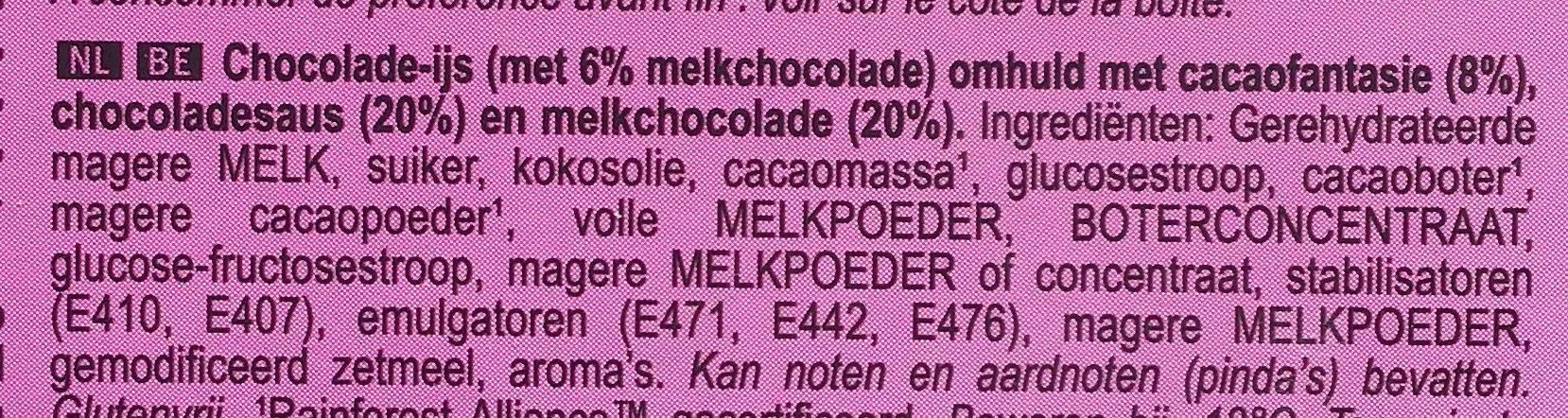 Mini double chocolat - Ingrediënten