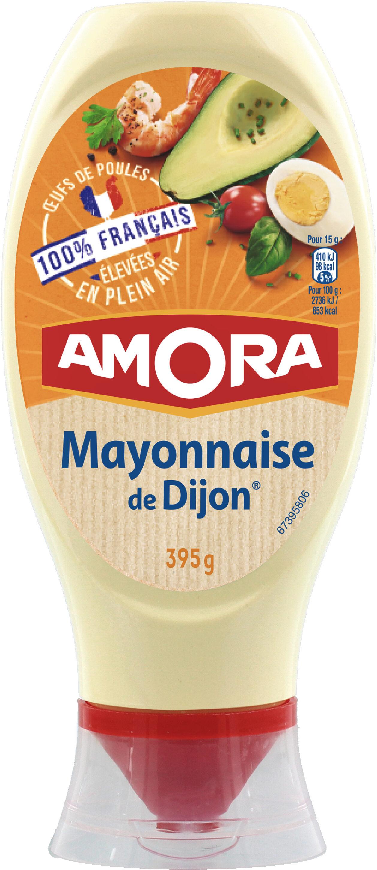 Amora Mayonnaise Dijon Nature Œufs Français Flacon Souple 685g - Product - fr