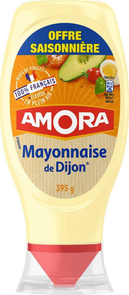 Amora Mayonnaise Dijon Nature Œufs Français Offre Saissoniere Flacon Souple - Product - fr