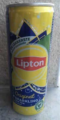 Lipton original Sparkling Ice Tea - Produit - fr