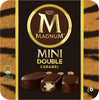 Magnum Glace Bâtonnet Mini Double Caramel x6 360ml - Product