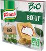 Knorr Bio Bouillon Cubes Saveur Boeuf 6 Cubes 60g - Produit