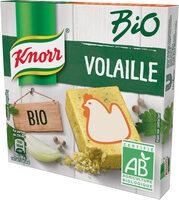 Knorr Bouillon Bouillon de poule bio 6 Cubes 60g - Produit