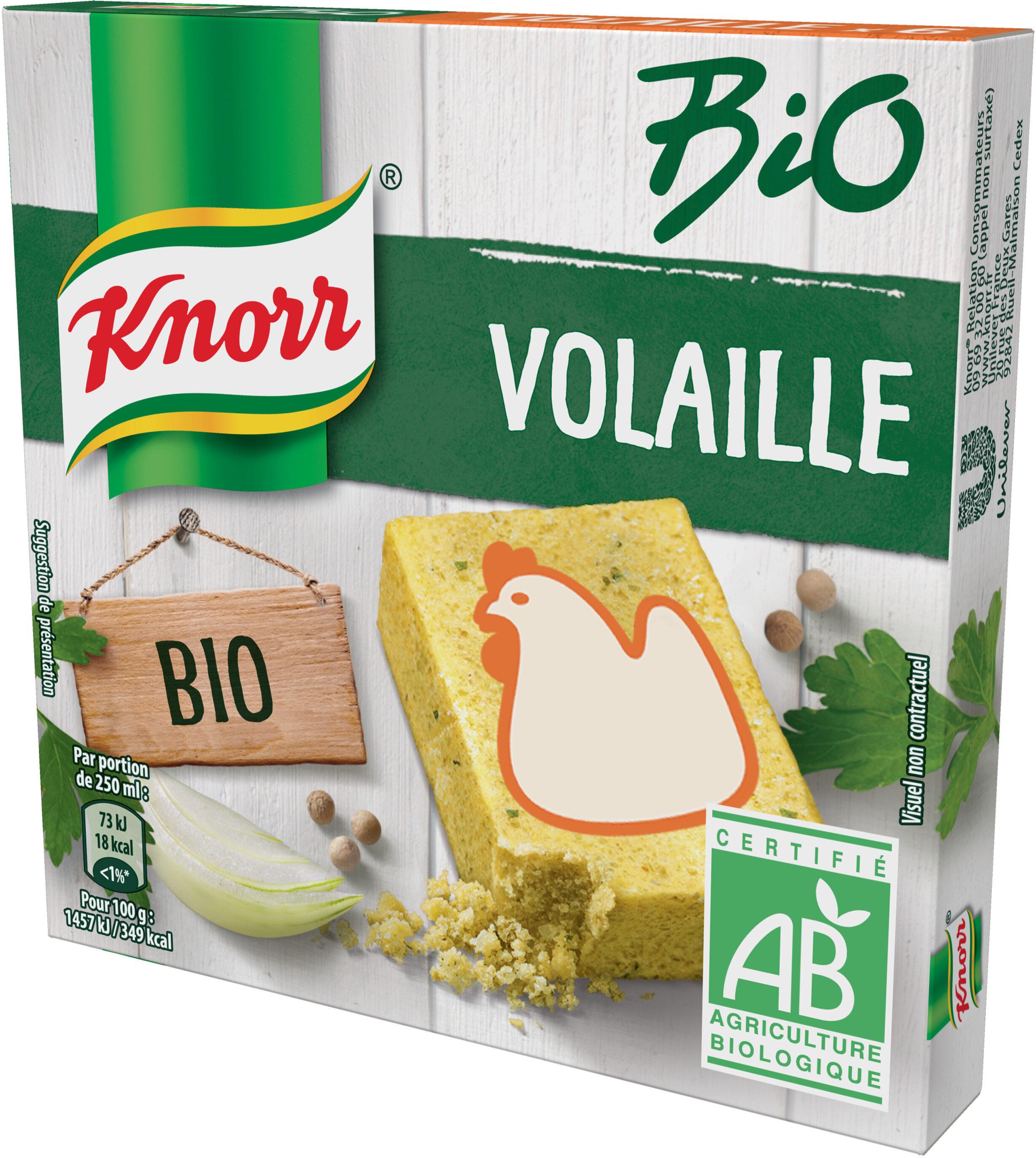 Knorr Bouillon de Poule Bio 6 Cubes - Produit - fr