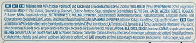 KINDER Glace Sandwich Céréales et Lait - Ingredienti - fr