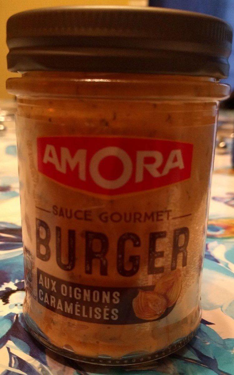 Amora Sauce Burger aux Oignons Caramélisés 188g - Produit - fr