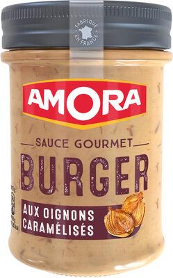 Amora Sauce Gourmet Burger aux Oignons Caramélisés - Product - fr