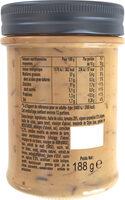 Amora Sauce Burger aux Oignons Caramélisés 188g - Informations nutritionnelles - fr