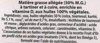 Omega 3 sans huile de palme - Ingrediënten - fr