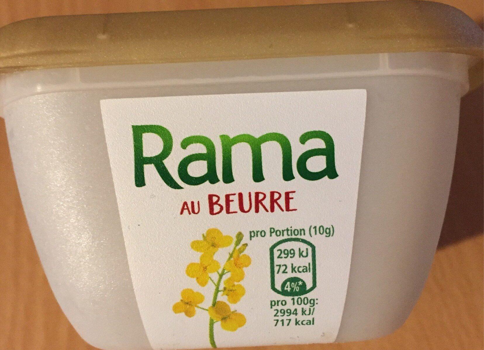 Rama au beurre - Produkt - fr