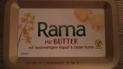 Rama au beurre - Produkt