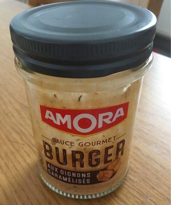 Sauce gourmet burger aux oignons caramélisés - Produit