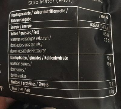 Droptoppers Lekker Stevig - Informations nutritionnelles