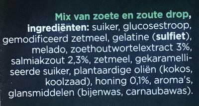 Dropmix gemengd - Ingrediënten - nl