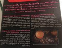 DROPMIX - Ingrediënten - fr