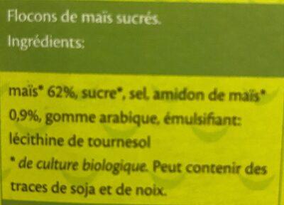 Rosies Gesüsste Cornflakes Glutenfrei Bio 200 g - Ingredients